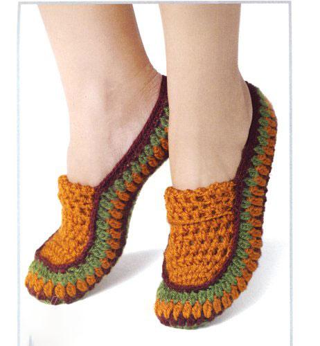 طرز بافت جوراب روفرشی