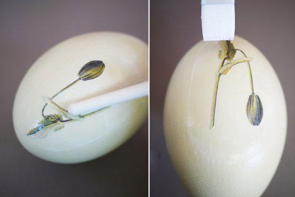 جا هفت سینی با چسب چوب آموزش دکوپاژ روی تخم مرغ ویژه هفت سین | زن امروزی