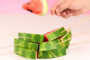 روش های متنوع برش هندوانه - زن امروزی