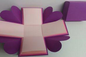 آموزش ساخت جعبه کادو جادویی - زن امروزی