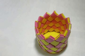 ساخت جامدادی کاغذی - زن امروزی