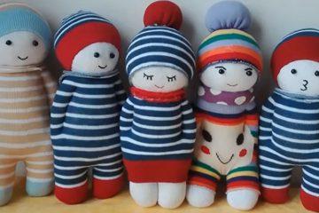 عروسک جورابی - زن امروزی