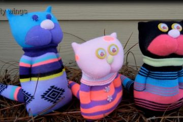 عروسک جورابی گربه - زن امروزی