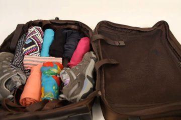 چیدمان وسایل در چمدان - زن امروزی