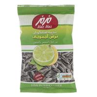 تخمه آفتابگردان ترش لیمویی مزمز 125گرم - maz maz lemon sunflower seeds 1250 gram