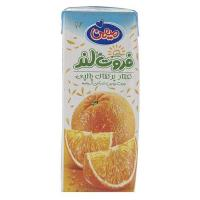 نکتار پرتقال پالپی میهن 200 میلی لیتر - mihan orange nectar with pulp 200 ml