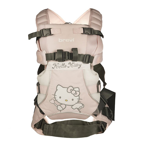 آغوشی بروی مدل Hello Kitty - Brevi Hello Kitty Baby Carrier