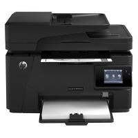 پرينتر چند کاره اچ پي همراه با گوشي تلفن مدل LaserJet Pro MFP M127fw - HP LaserJet Pro MFP M127fw+ Handy Phone Multifunction Laser Printer