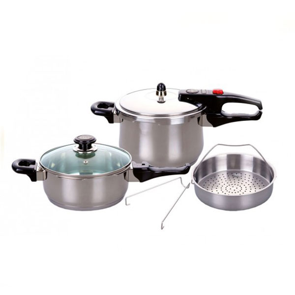 زودپز حرفه ای دوقلو کیپ مدل KPC-6000T - Keep KPC-6000T Twin Professional pressure cooker